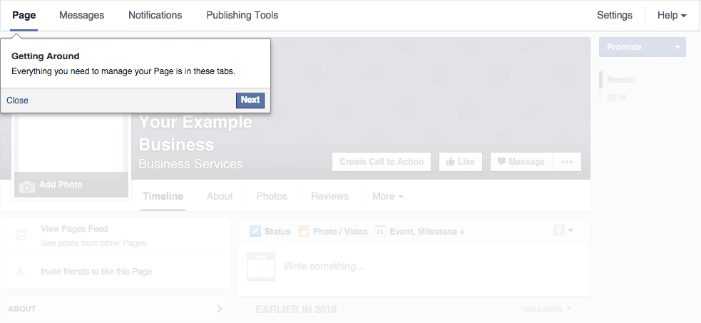 Facebook Business Page Setup - Step #2.5