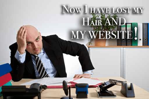 Lost My Website Data