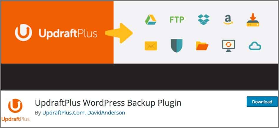 UpdraftPlus WordPress Backups