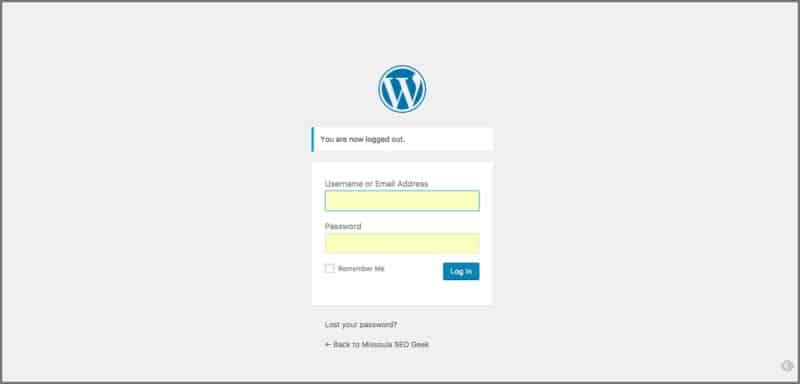 ow To Login To A WordPress Website Quickly And Easily